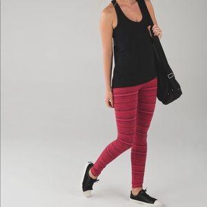 lululemon athletica Pants - LULULEMON full length boom juice striped legging 2
